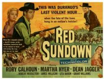 Red Sundown 1956 DVD - Rory Calhoun / Martha Hyer